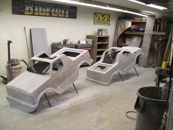 Bigfoot workshop, Mini Monster gokart bodies 13557_10