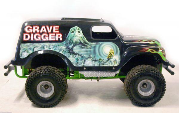 Grave Digger Gokart 21708810