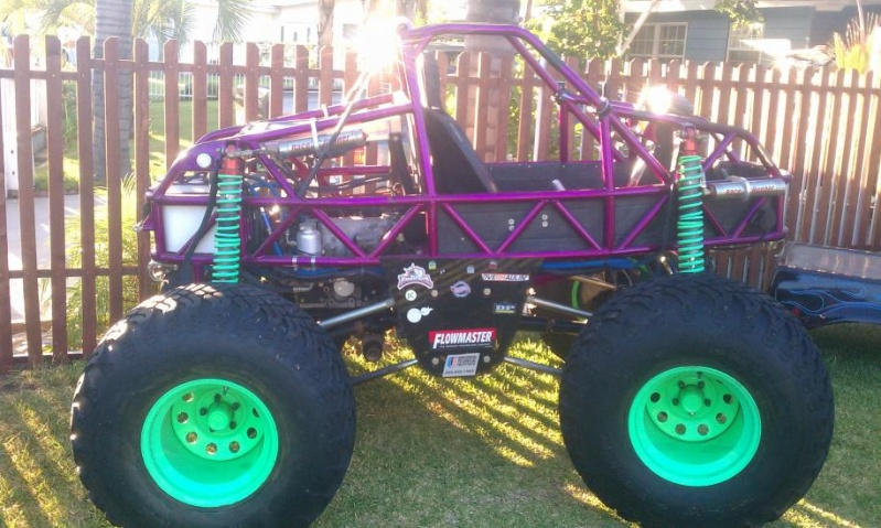 "preciador6 ~ PATRIOT RACING MINI MONSTER TRUCK ""COMMANDO"" Fg10"