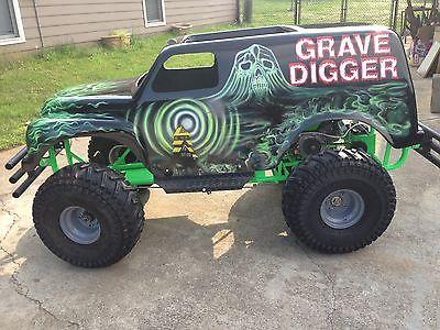Grave Digger Gokart Kgrhqr11