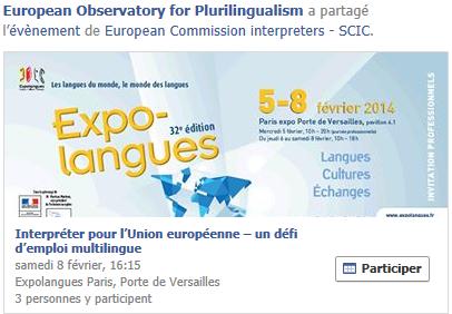 Interpréter pour l'Union européenne – un défi d'emploi multilingue Temp1055