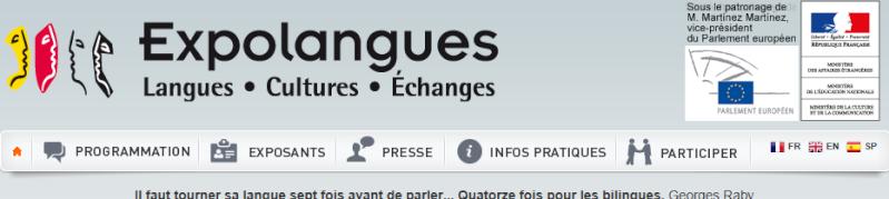 """EXPOLANGUES 2014 : Table ronde """"Des langues... 32ème édition Temp1134"""