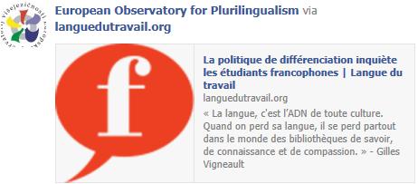 Canada : La politique de différenciation inquiète les étudiants francophones Temp1293