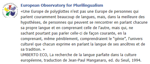 European Observatory for Plurilingualism - Page 2 Temp180