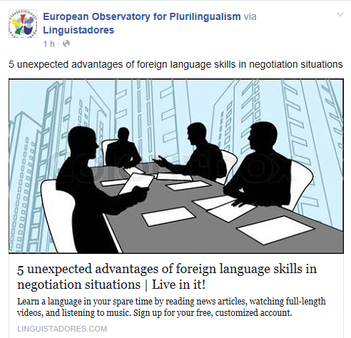 5 unexpected advantages of foreign language skills in negotiation situations Temp2007