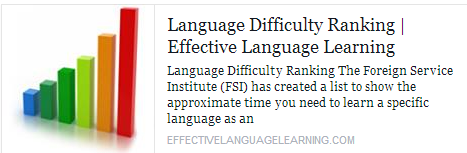 Language Difficulty Ranking Temp2022