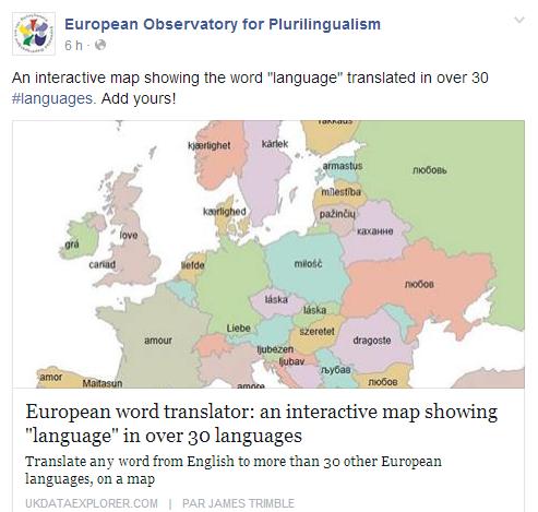 European word translator Temp2038