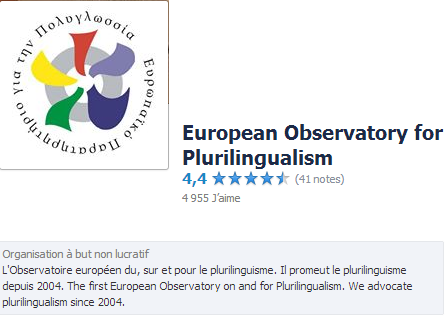 European Observatory for Plurilingualism Temp2253