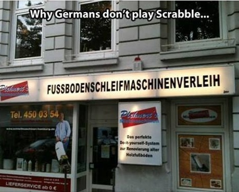 Why Germans Don't Play Scrabble? Temp357