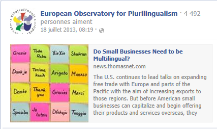 Do Small Businesses Need to be Multilingual? Temp733