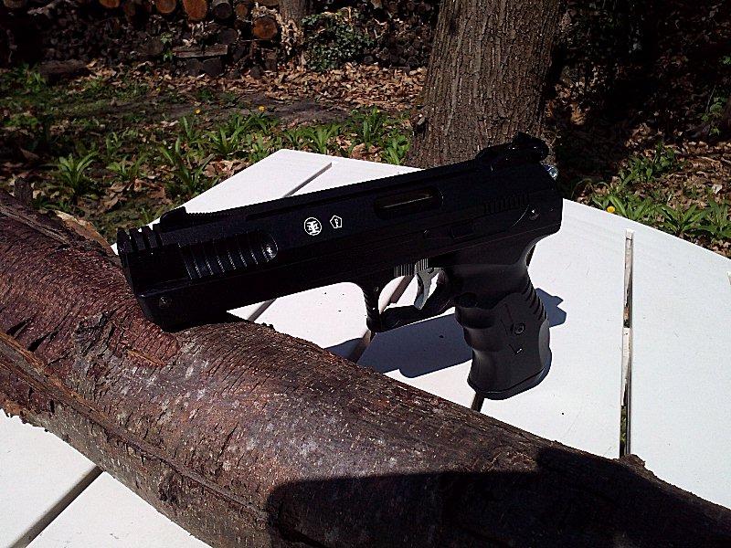 Réception premier pistolet : Beeman P17 00410