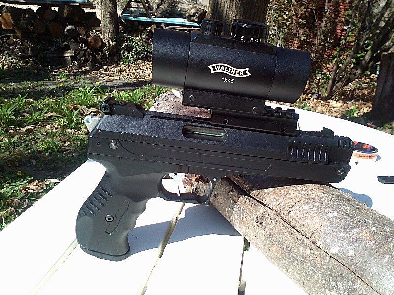 Réception premier pistolet : Beeman P17 02010
