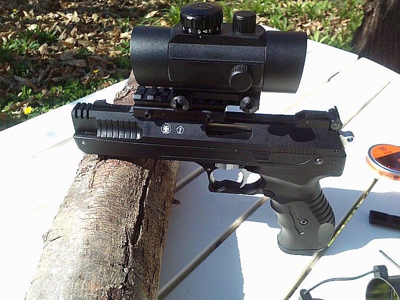 Réception premier pistolet : Beeman P17 02110