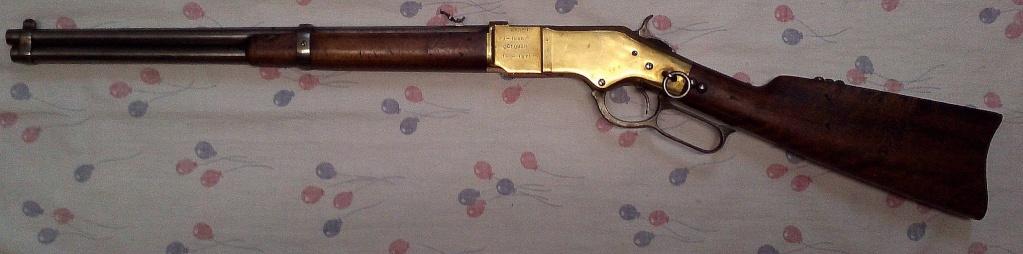 "Winchester ""Yellow Boy"" Cal. 44 WCF ...... 1866 ou 1873...? Img56011"