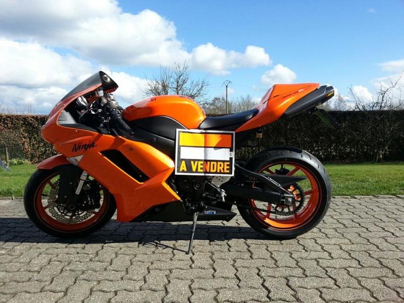 Ma Ninja Zx6r K8 orange/black Clean Look ! ! !  - Page 6 15065210