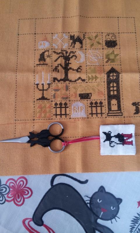 SAL Patchwork Halloween de Jardin Privé - FINI - Page 8 20140210