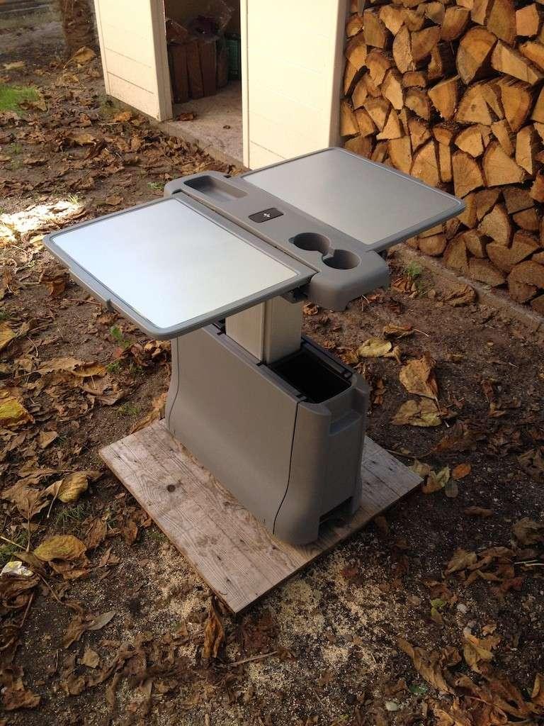 (Vendue) Vends Table Pliable Papillon pour Mercedes Viano Table_10