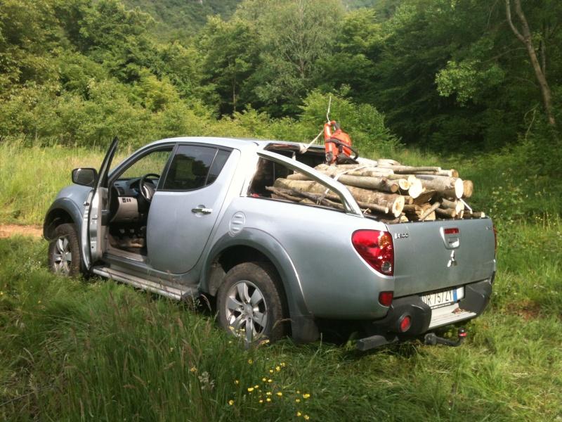 pick up - Pick-up per trasporto legna e ramaglie per lavori in tree climbing Img_0510