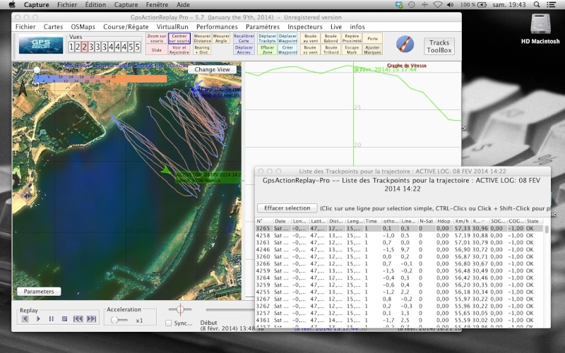 Traces 2014 - Lac de Maine SPEED 20140212