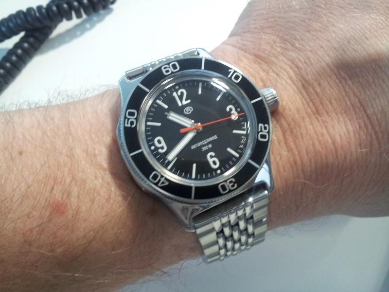 vostok - Ma nouvelle custo Vostok 20140111