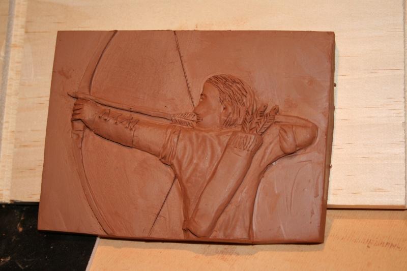 """mes premier pas """"bas relief archer"""" Img_3910"""