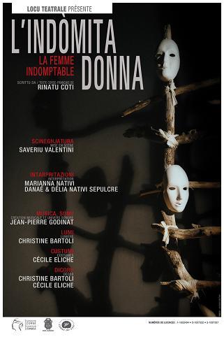 Indomita donna, Théâtre (Maria-Chjara Bertonchini) Indomi11