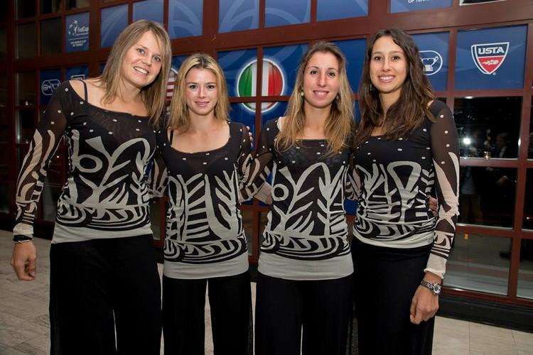 FED CUP 2014 : Groupe mondial en course pour le titre Italie15