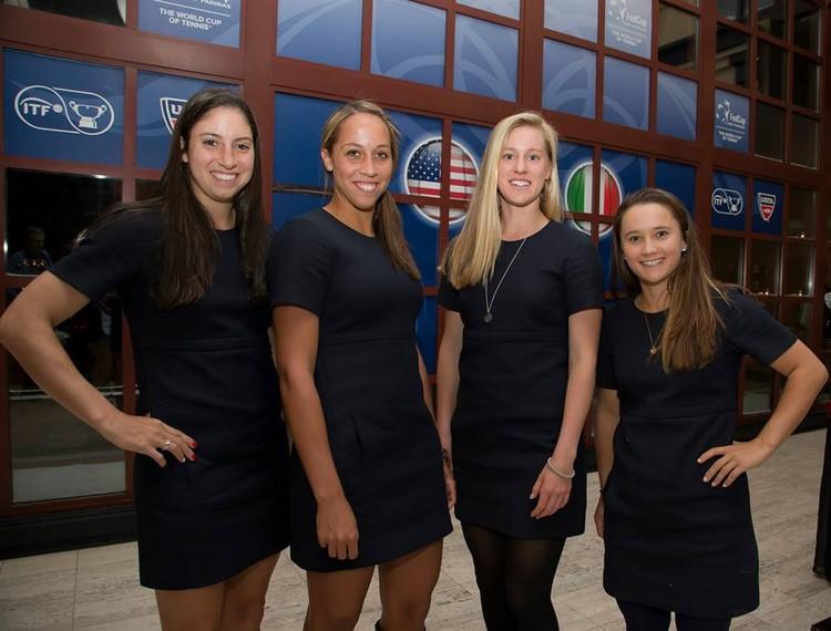FED CUP 2014 : Groupe mondial en course pour le titre Usa11