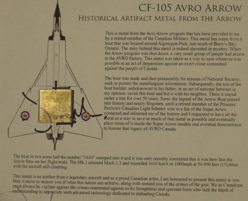 Piece of Avro Arrow Img_0913