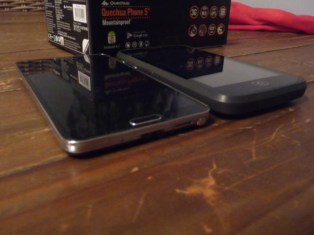 [QUECHUA PHONE 5] 1er Smartphone MountainProof - TEST - ROOT P1170812