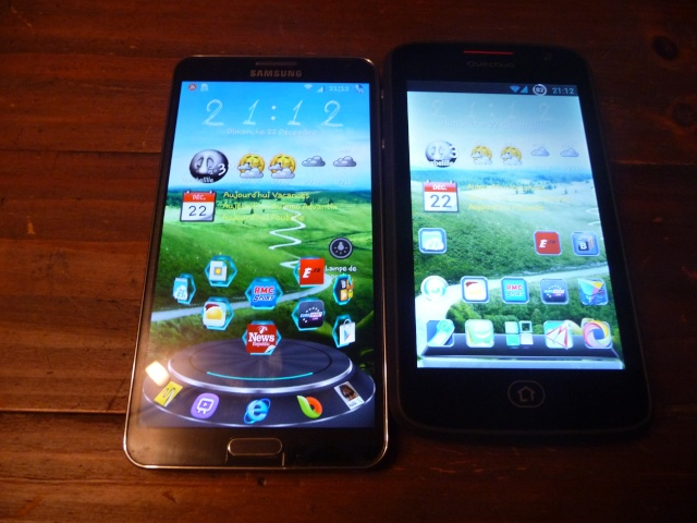 [QUECHUA PHONE 5] 1er Smartphone MountainProof - TEST - ROOT P1170813