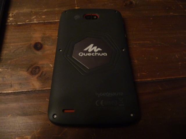 [QUECHUA PHONE 5] 1er Smartphone MountainProof - TEST - ROOT P1170814