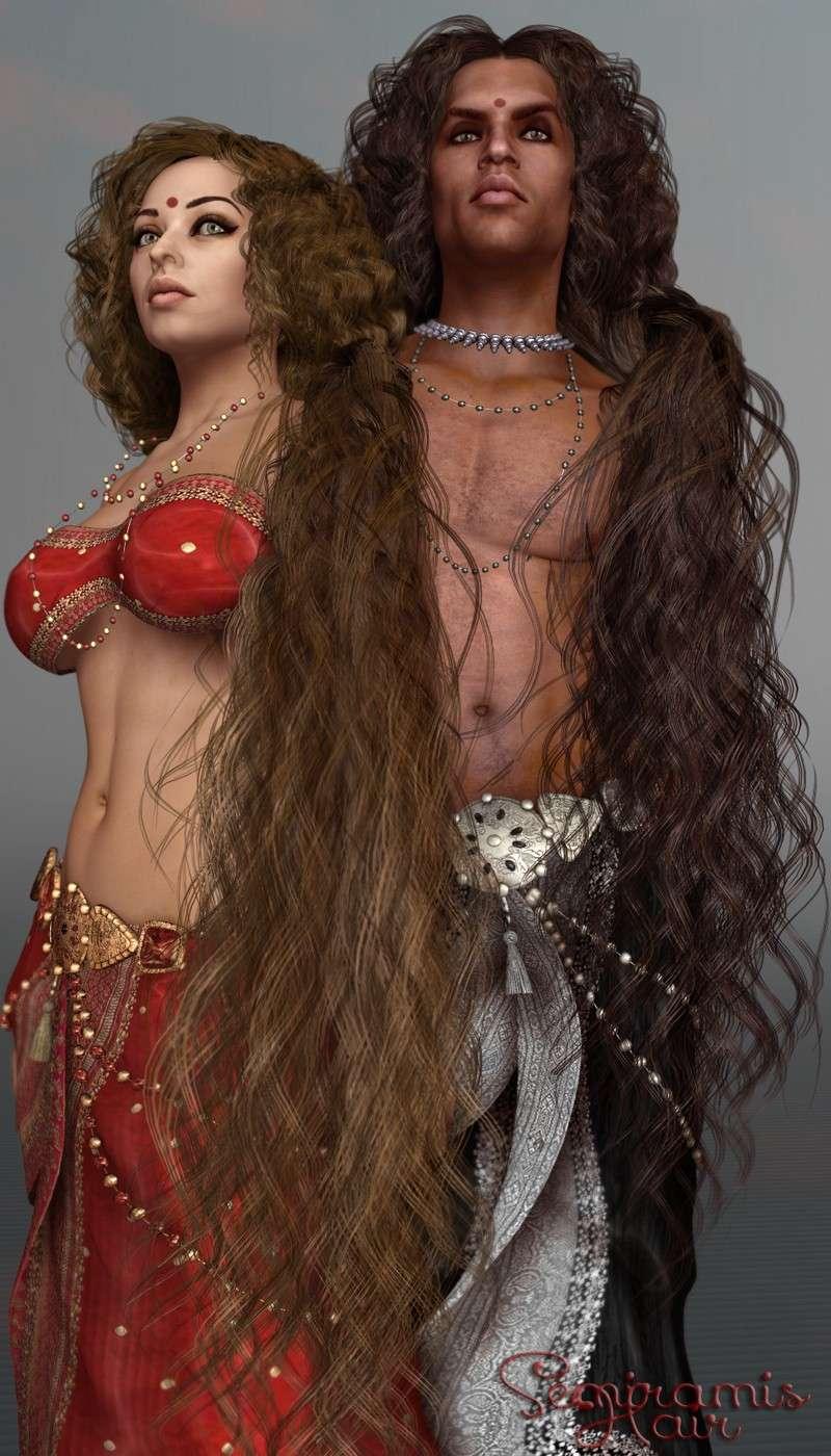 Im Angebot SAV Semiramis Hair Sav_se10