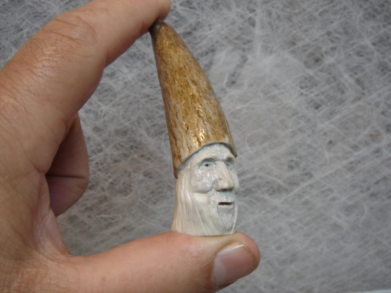 Sculptures sur Panache d'orignaux Bonhom10