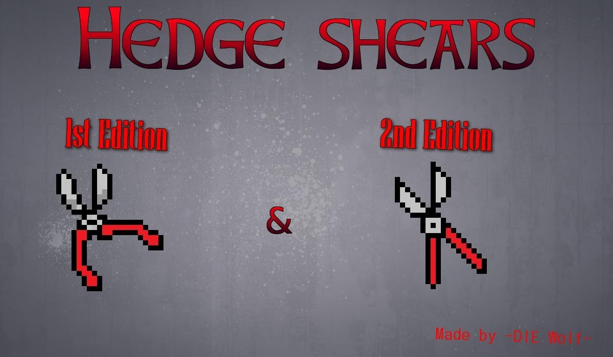 Hedge Shears Backgr10