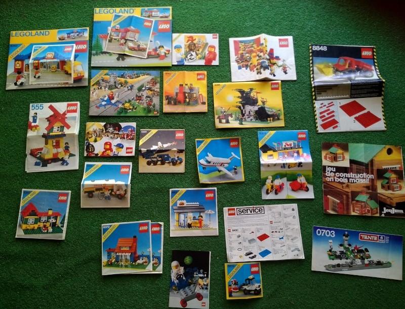 LEGO istruzioni vari set  Img_2014