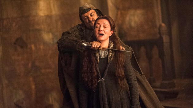 """HBO GOES ALL """"GAME OF THRONES"""" ON YET ANOTHER WEDDING PARTY? HEADS WILL ROLE!!! 0603-g10"""