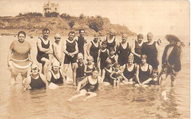 La plage de Saint-Quay en 1908 14550310