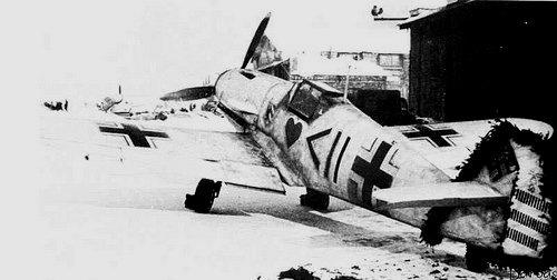 ME 109 F2 (zvezda) Bf109f10