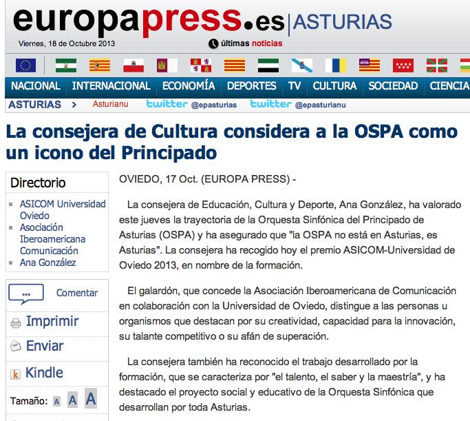Premio Iberoamericano para la OSPA Captur11