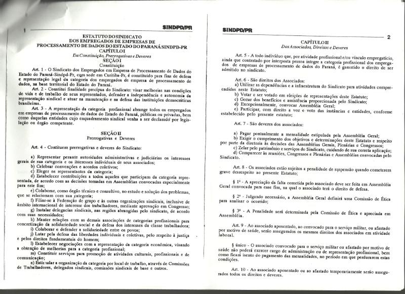 Estatuto SINDPD-PR Estatu11
