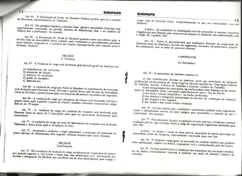 Estatuto SINDPD-PR Estatu17