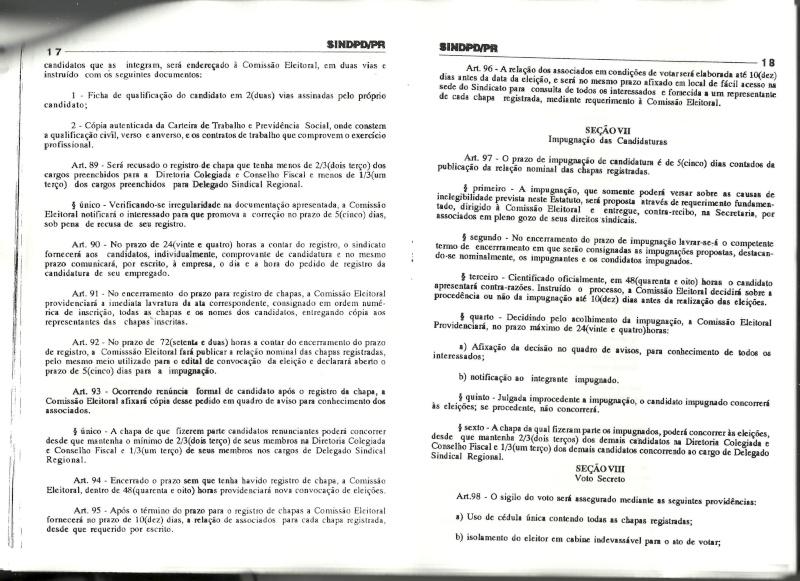 Estatuto SINDPD-PR Estatu19