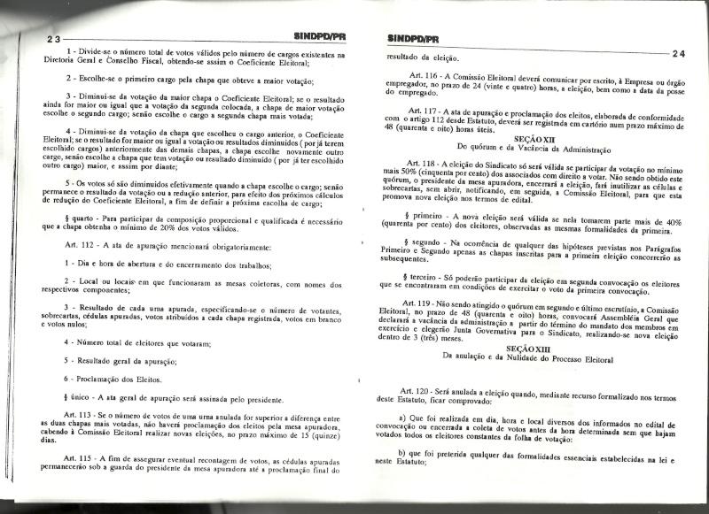 Estatuto SINDPD-PR Estatu22