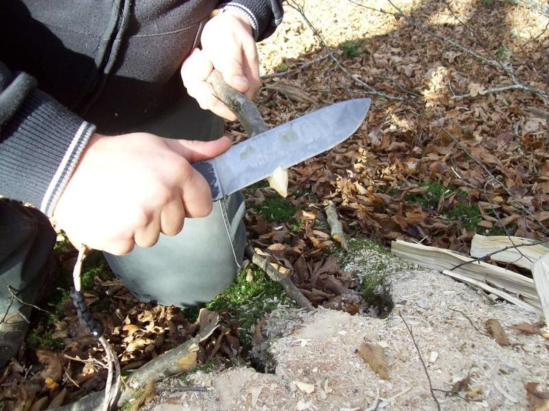 sortie automnale/ test de mon couteau de camp maison  100_3016