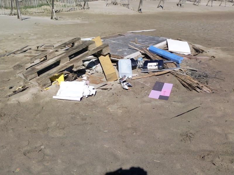 la plage de Piemanson 13771810