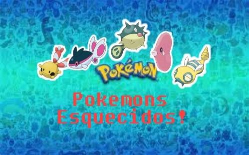 Pokemons Esquecidos! #2 - Luvdisc! Pokes_10