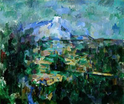 Un peintre, un auteur : Cézanne - Page 2 Sainte10