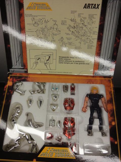 cavalieri dello zodiaco scatola tempio Dsc02611