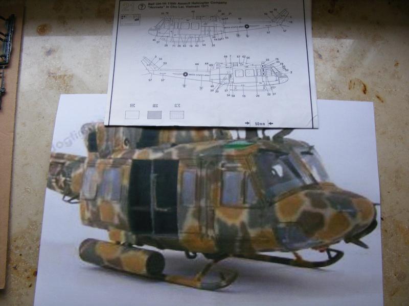 Recycling einer Bell UH-1 von REVELL in 1:32 Dscf1030